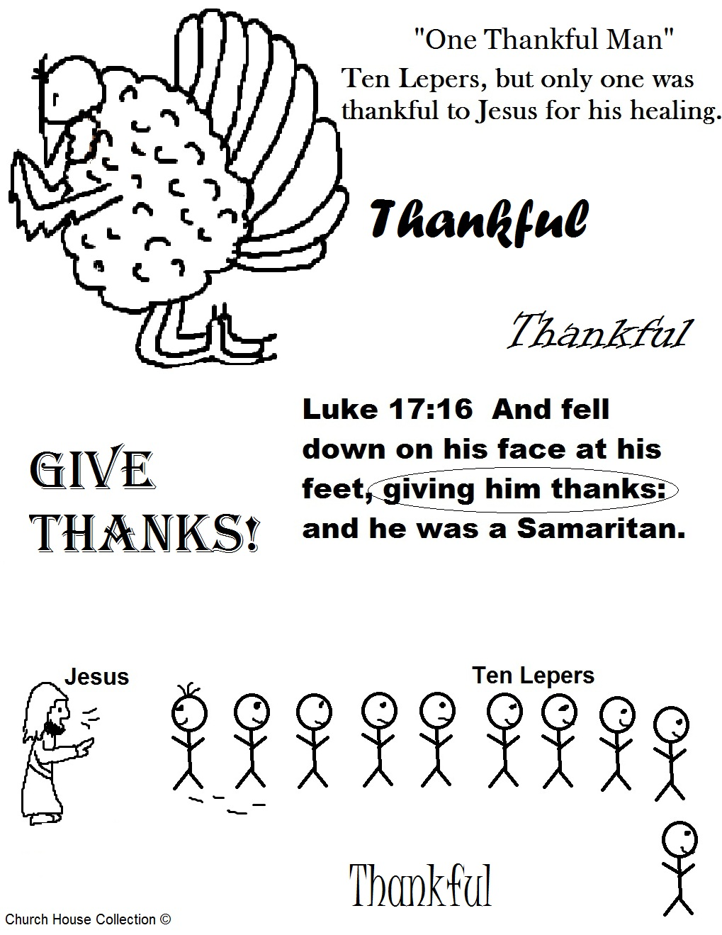 Church house collection blog thanksgiving lesson for for Thanksgiving sunday school coloring pages