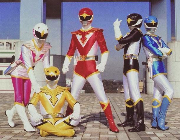 Retro Pilipinas on Jetman 90's Super Sentai Series on RPN