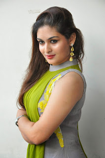 Actress Prayaga Martin Latest Picture Gallery at Pisachi Movie Success Meet 017.JPG