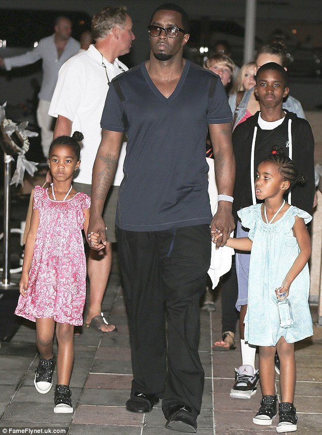 welcome to uyi ehigies blog photos p diddy with his kids