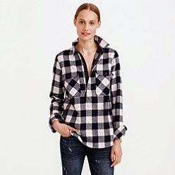 J crew aficionada j crew updates website with new arrivals for Buffalo check flannel shirt jacket