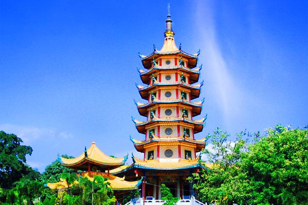 Pagoda Vihara Buddhagaya Watugong