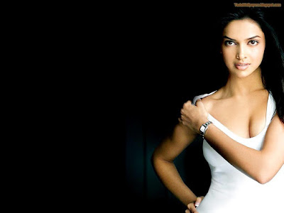 Hot Deepika Wallpaper white top
