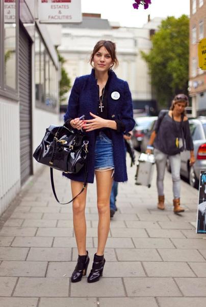 alexa chung jean shorts