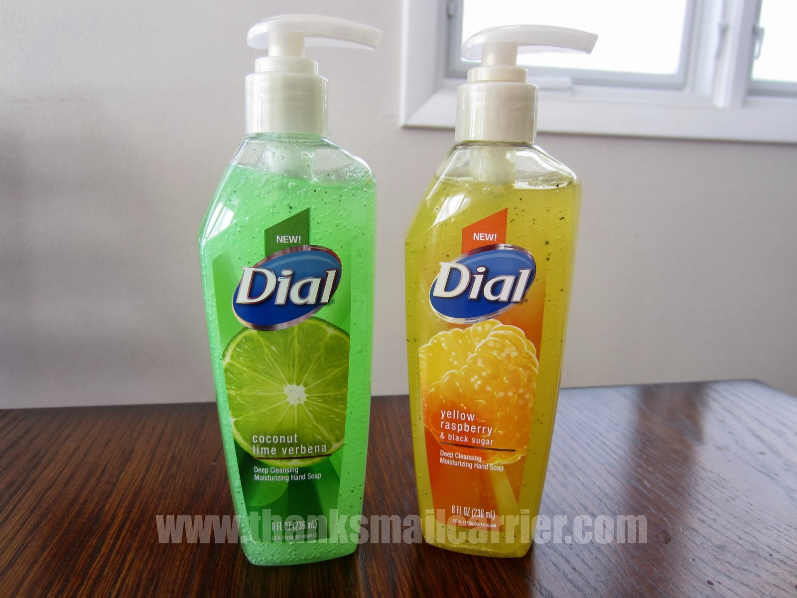 Dial hand soaps