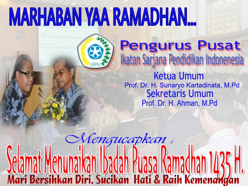 Selamat Menunaikan Ibadah Puasa Ramadhan 1435 H.