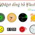 Tổng hợp 34 mẫu đồng hồ Flash cho blog/web