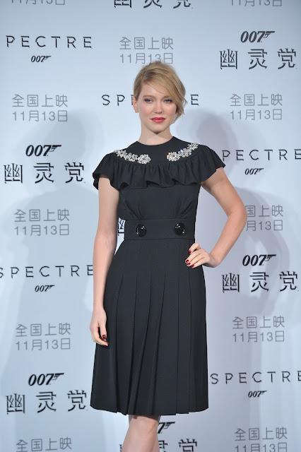 Actress, Model @ Lea Seydoux - 'Spectre' premiere in Beijing