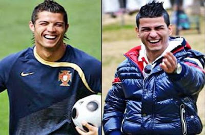 Gokmen Kembaran wajah Ronaldo