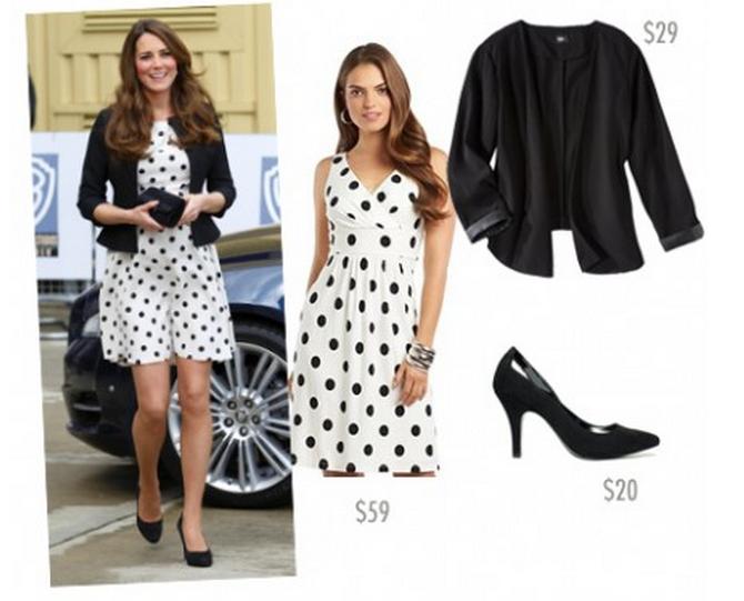 Steal Her Look Kate Middleton 39 S Polka Dot Dress Viva