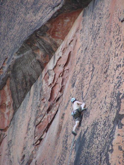 Climbing in Borneo