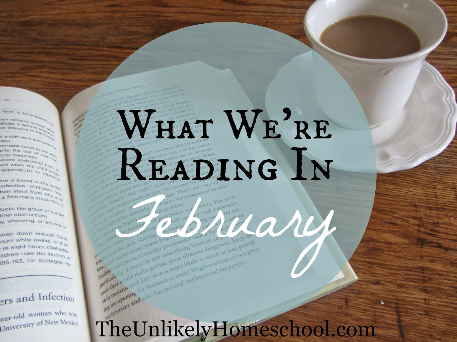 What We're Reading in February 2015 {The Unlikely Homeschool}