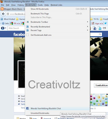 Cara Pasang Facebook Chat di Firefox Sidebar