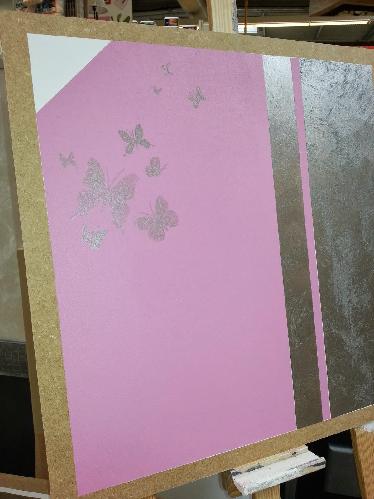 Peinture paillette nouveaux coloris les d coratives for Peinture avec paillette de mica