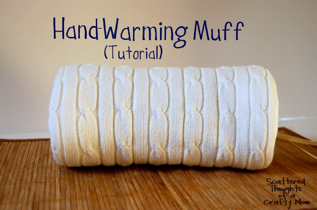 How to make a hand Muff - tutorial