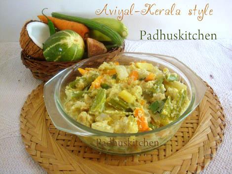 Kerala style aviyal recipe kerala avial recipe padhuskitchen for Avial indian cuisine