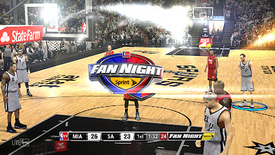 NBA 2K13 NBA TV Live Logo Watermark Patch