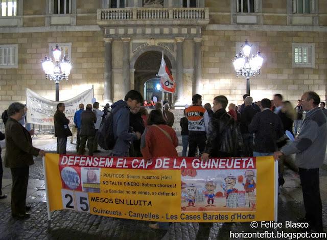 CAP Guineueta, en Plaza Sant Jaume