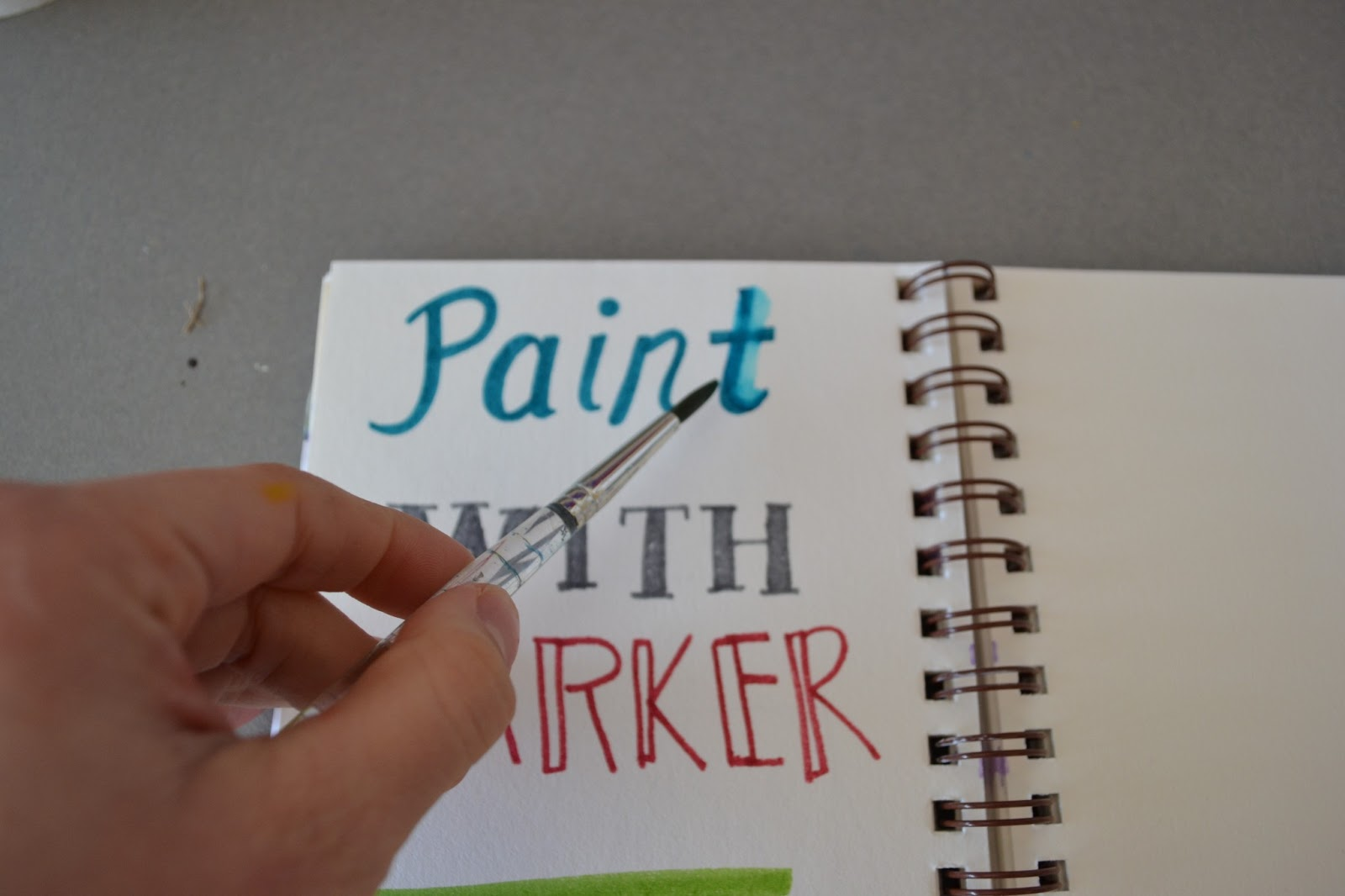 Can I Use A Wet Paintbrush Water Based Paint