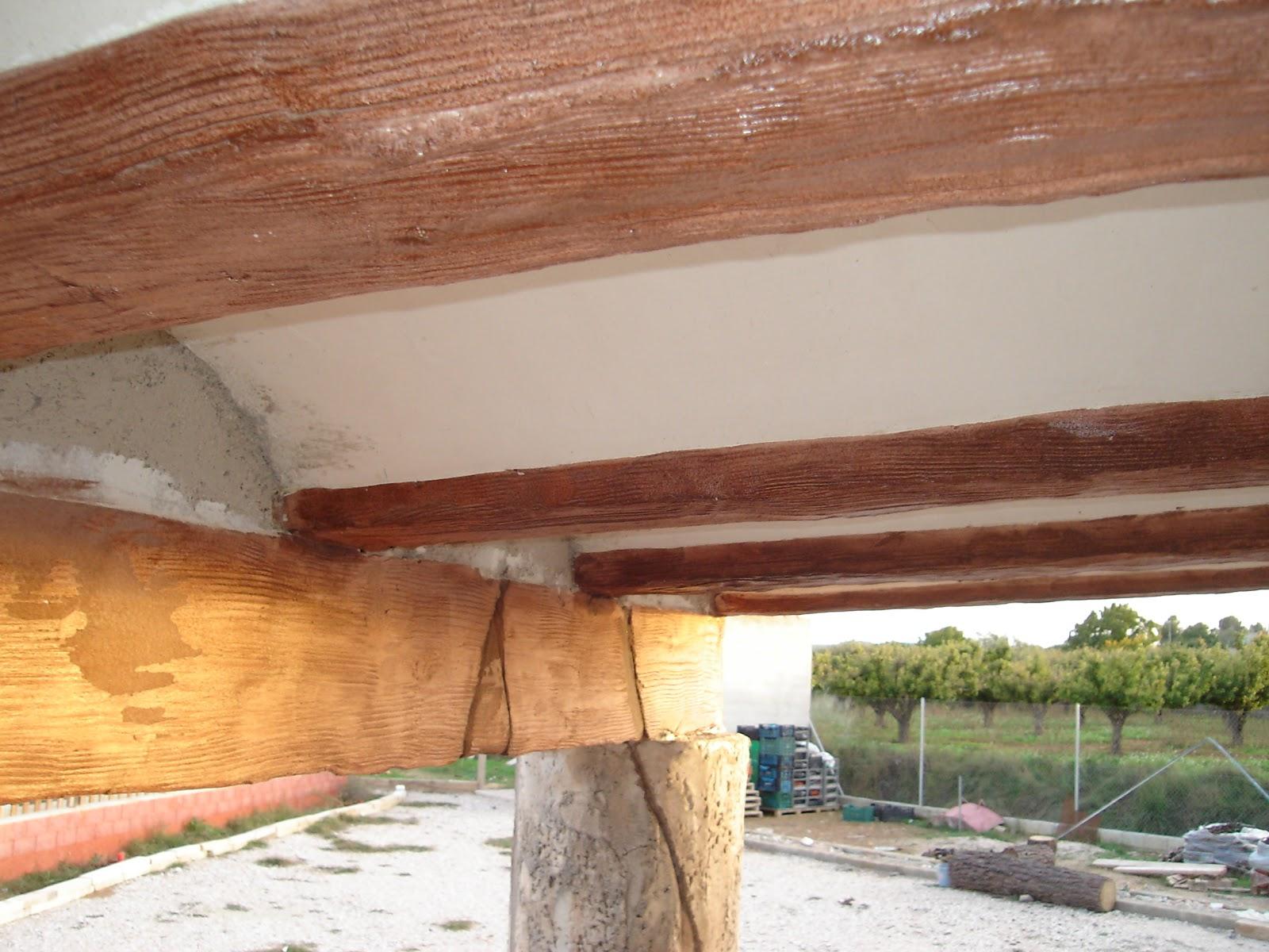 Piedras y maderas artificiales javier lude a tlf Revestimiento de hormigon