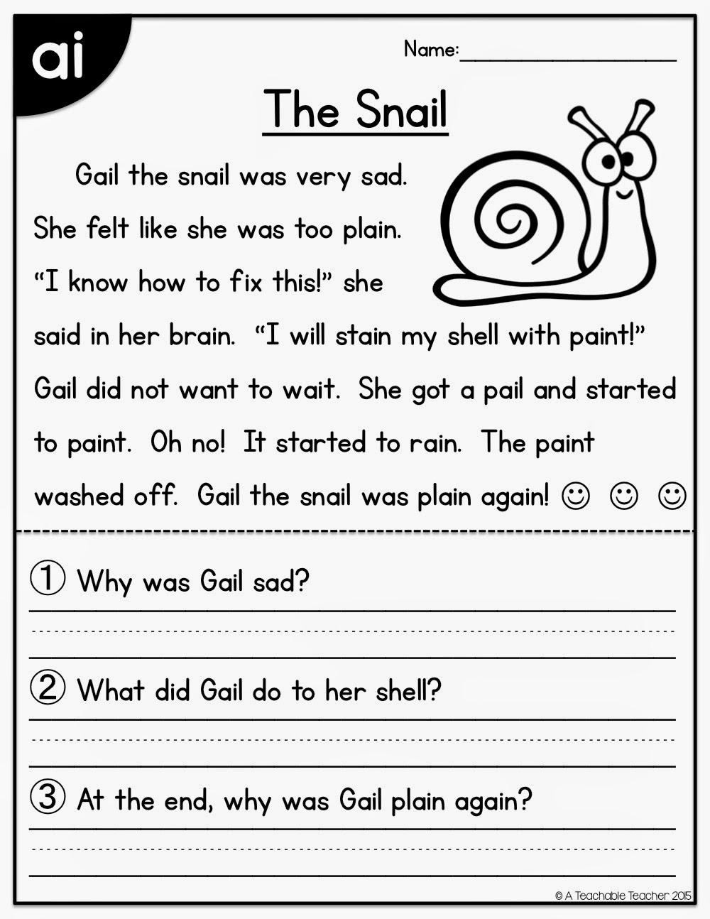 Worksheet Reading Passages the primary pack all in one reading passages freebie