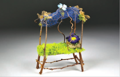 fairy house crafts princess canopy bed