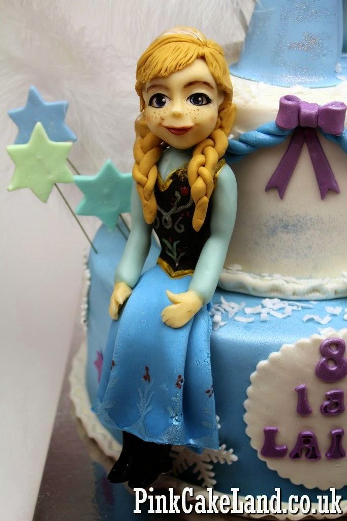 Frozen Cake Figures, London UK
