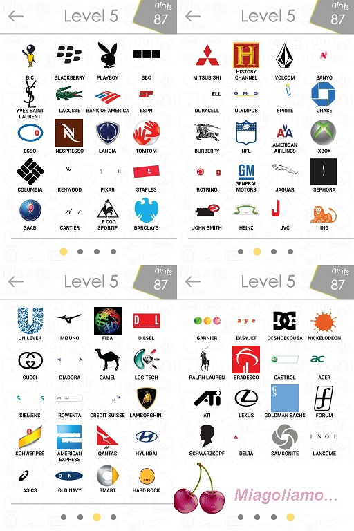 Miagoliamo Blog: Logos Quiz: Soluzioni
