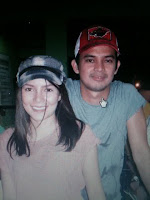 Jewel Mische with Jason Abalos