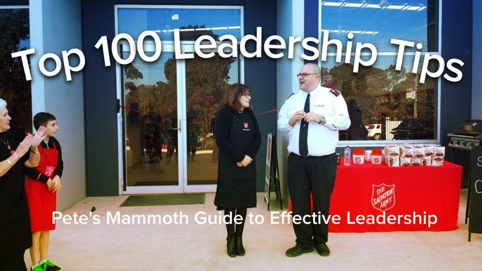 Top 100 Leadership Tips