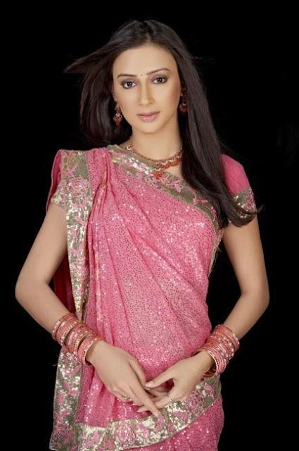 Gujarati Style Saree