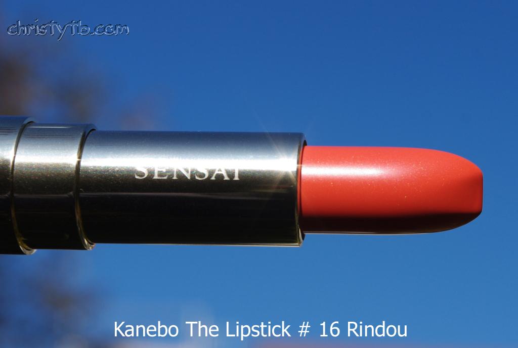 Помада с золотом Kanebo Sensai The Lipstick 16 Rindou ...: www.christytb.com/2011/11/kanebo-sensai-lipstick-16-rindou.html
