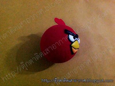 ตุ๊กตาแองกี้เบิร์ด (Angry Birds) ติดเสาอากาศรถยนต์