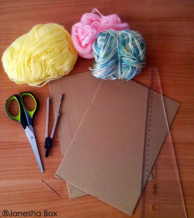 Tutorial aprender a hacer pompones de lana proyecto diy - Como se hacen los pompones ...