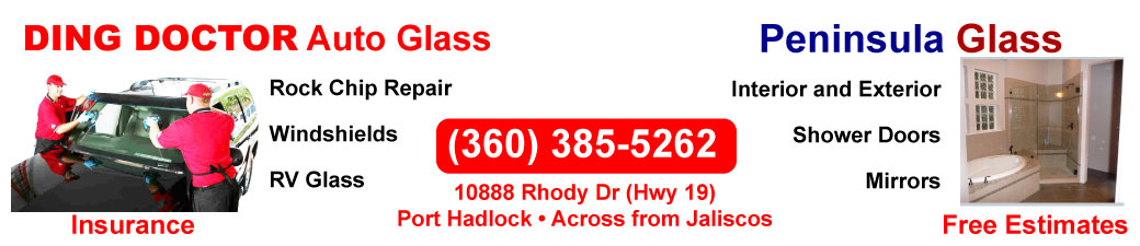 Ding Doctor Auto Glass and Peninsula Glass for Home and Vehicles