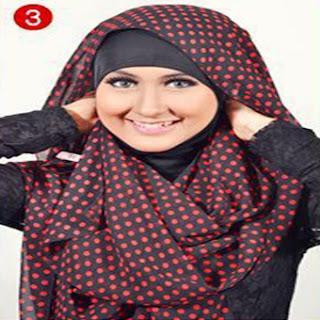 Cara Memaki Jilbab Paris Moderen