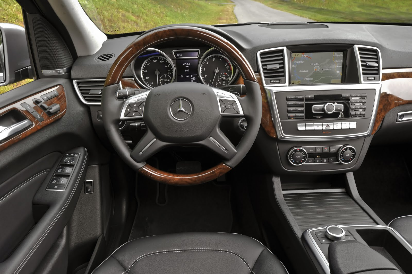 2012 mercedes m class ml350 review abundant technology for a safer ride w off road video