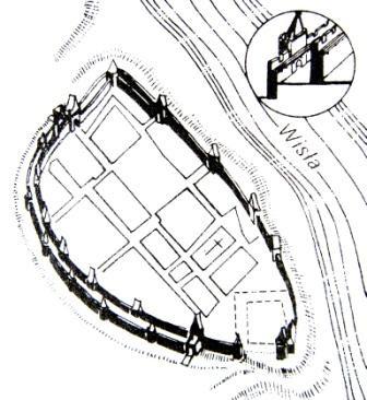 Obwarowania Warszawy z końca XV wieku
