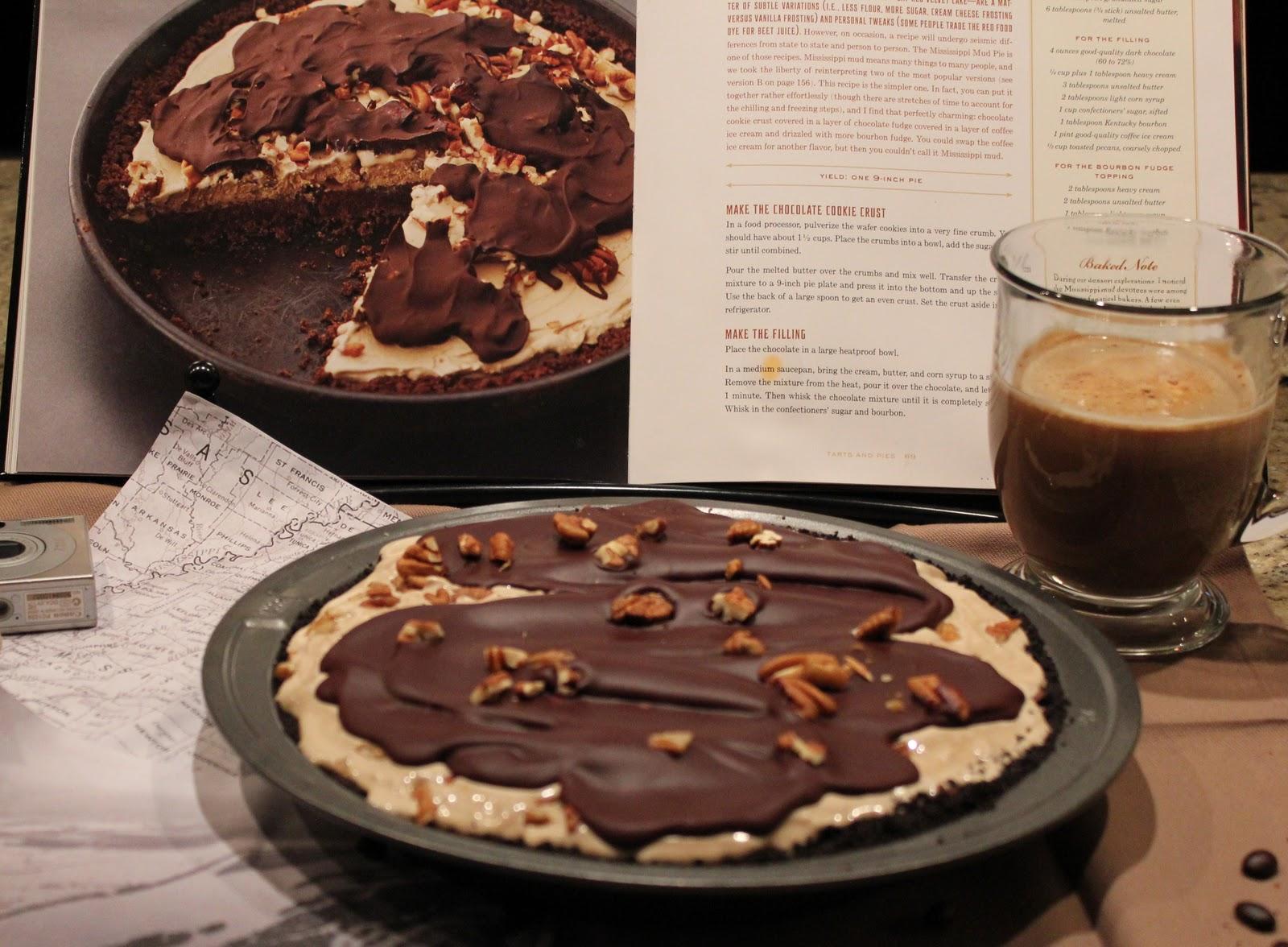 Both Halves: Mississippi Mud Pie (A) AKA Coffee Ice Cream Tart