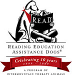 R.E.A.D. (Our local library has this program.)