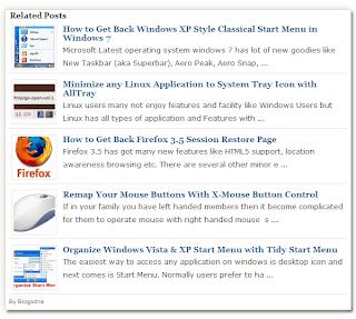 Tutorial Cara Membuat Related Post Premium pada Blogger atau blogspot