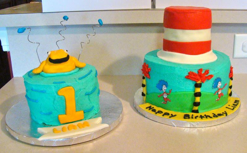 Simply Cake Dr Seuss Birthday Cake