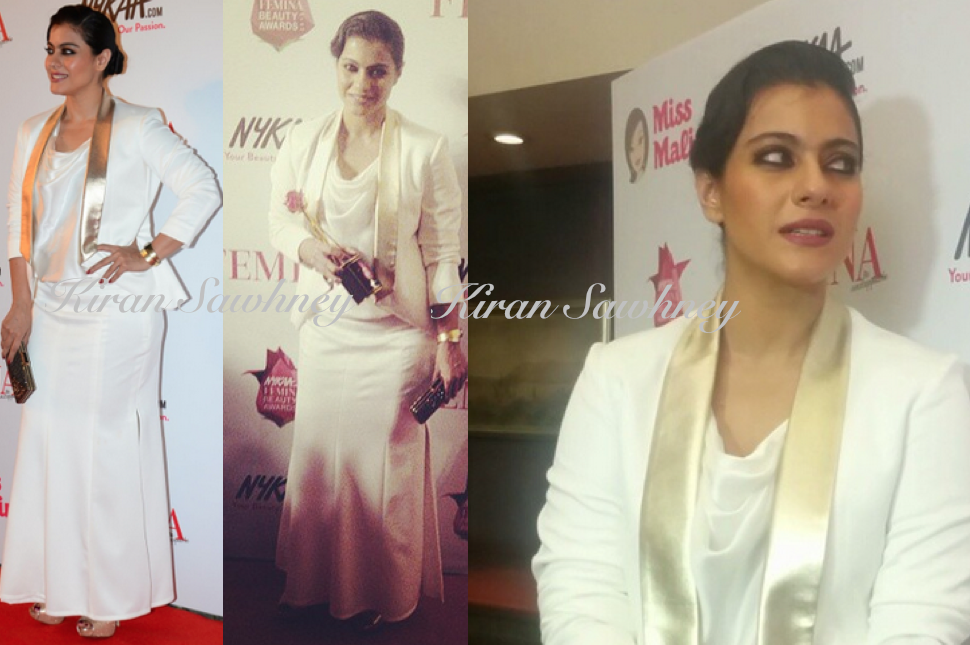 Kajol At Femina Beauty Awards 2015 in The Circus