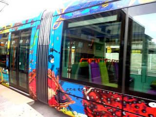Montpellier et ses trams et bus