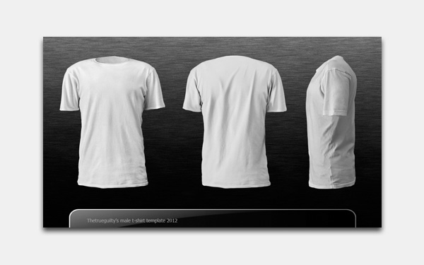 Template Design Baju Photoshop (PSD) | Rhey-V