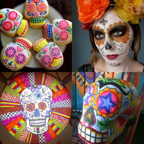 Sugar skull pumpkin crafts for dia de los muertos for Day of the dead crafts for preschoolers