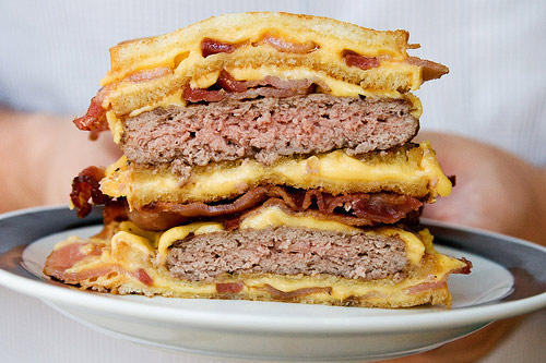 The Hamburger Fatty Melt..... OMG!!!