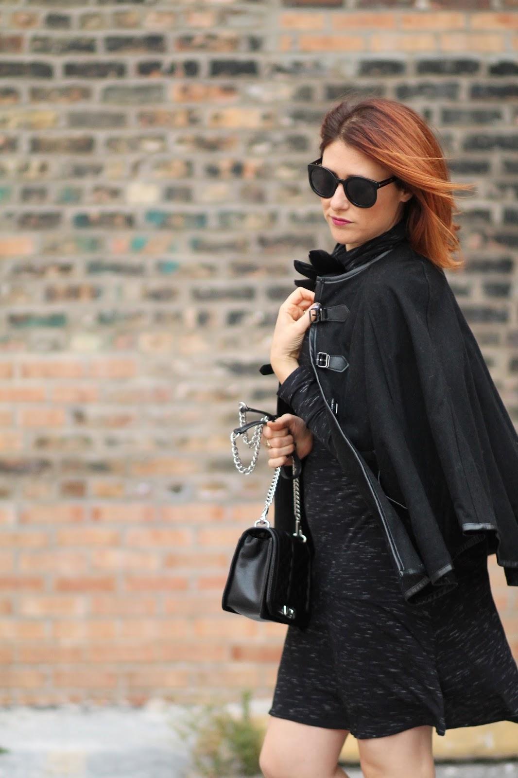 black, cape