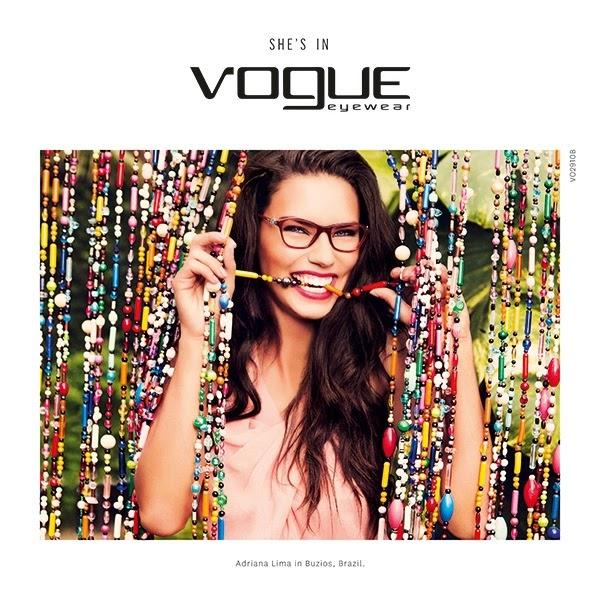 75917611fe4 Adriana Lima for Vogue Eyewear