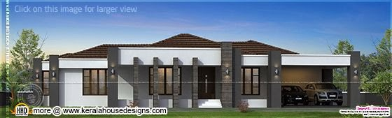 Kerala house plan with estimate